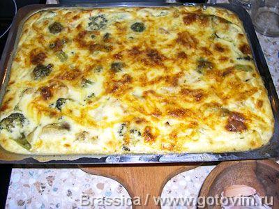 Овощи как в Анталии (овощи под сырной корочкой) . Фотография рецепта