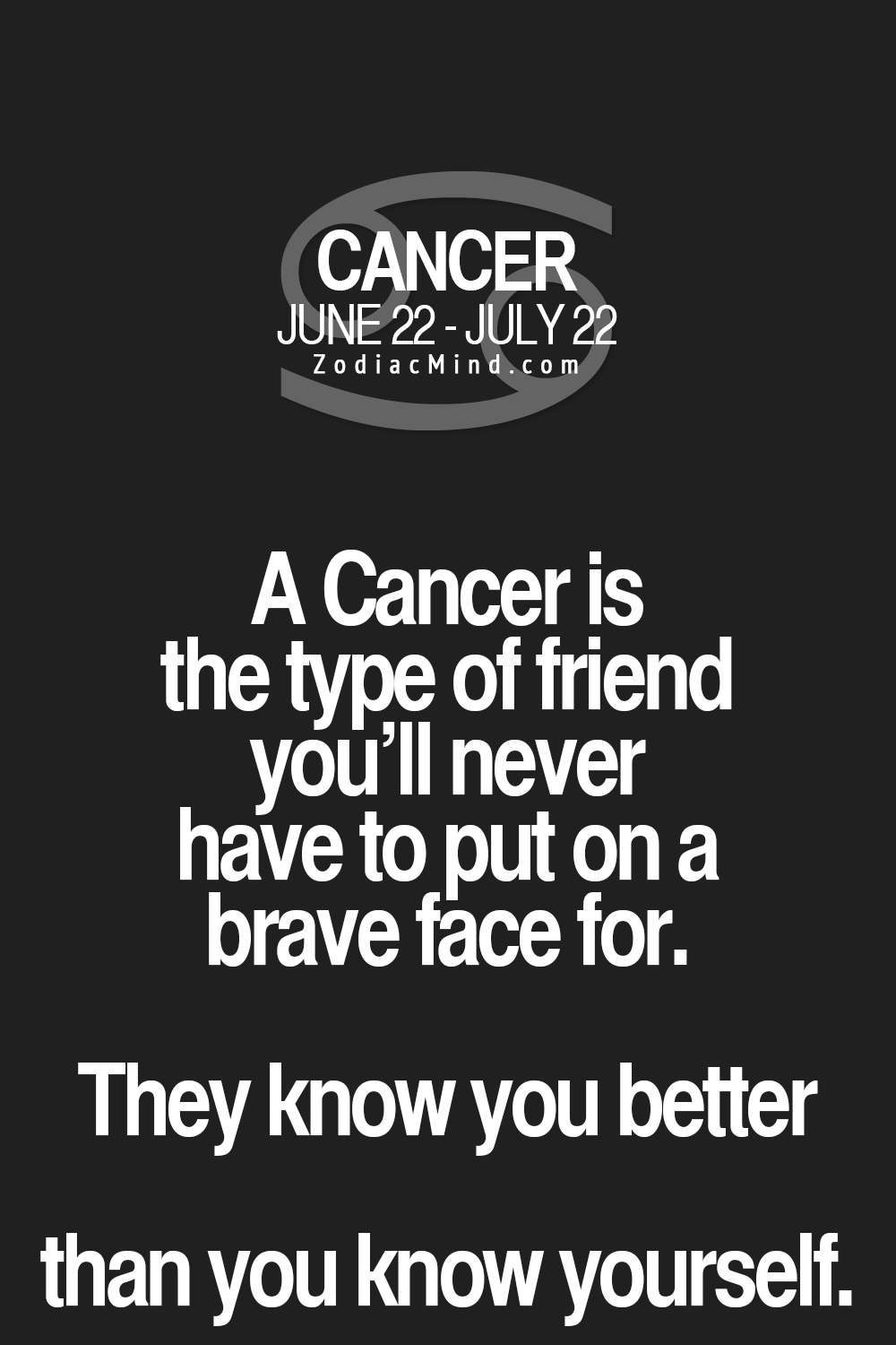 Cancer Sign Quotes Fun Facts About Your Sign Here  Quotes  Pinterest  Zodiac
