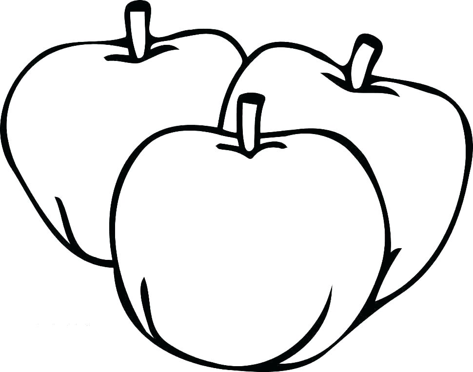 Free Printable Fruit Coloring Pages For Kids Apple Coloring Pages Fruit Coloring Pages Apple Coloring