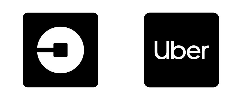 Uber Logo Poisk V Google Transporte Tarjetas
