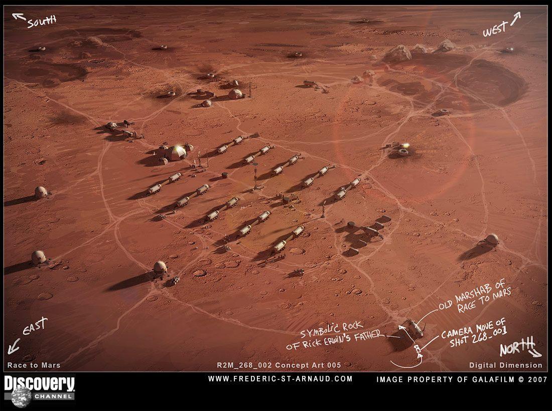 Mars colony | Mars | Mars planet, Mars project, Red planet