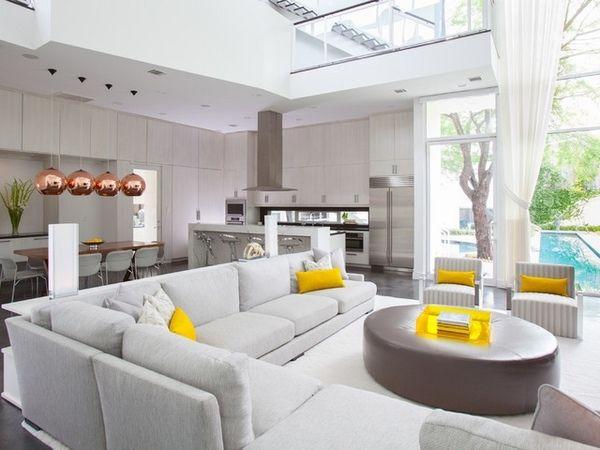 Modern Kitchen Diner Ideas White Kitchen White Living Room Magnificent White Living Room Interior Design Review