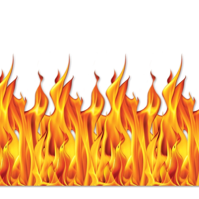 Flame Wall Backdrop Decoration. One Flame Wall Backdrop Decoration is made of flexible plastic sheeting and measures 4 feet tall X 30 feet wide! A great way to decorate your room! Use pns or tape to hang.