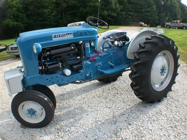 Ford 2000 Tractors Ford Tractors Vintage Tractors
