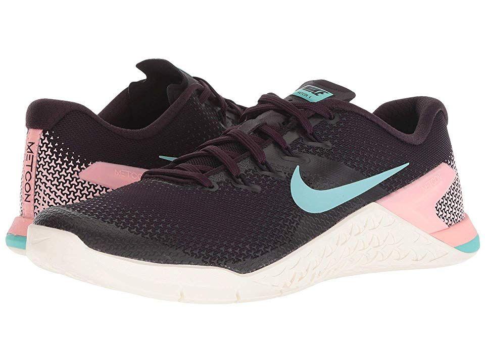 Nike Metcon 4 (Burgundy Ash Aurora Green Sail Pink Tint) Women s ... f0b803cd5