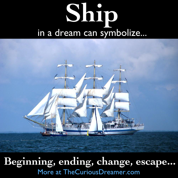 What Do Dream Catchers Do Symbolize A ship as a dream symbol can mean More at TheCuriousDreamer 37