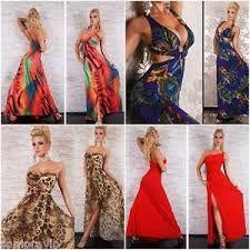 Resultado de imagen para vestidos de fiesta estampados largos ... 1b327a1b288a