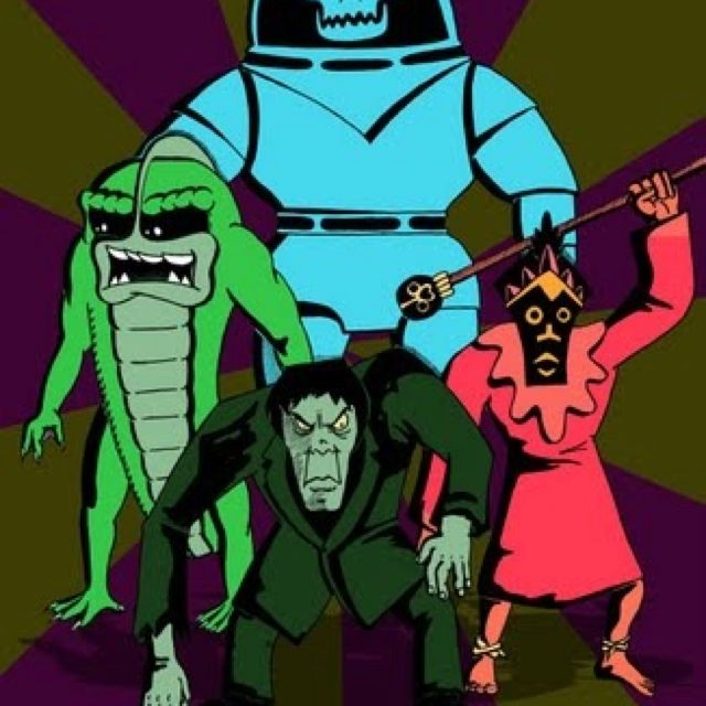 Scooby Doo Villains | All things Scooby doo | Pinterest