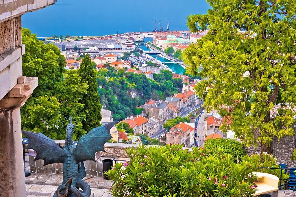 Rijeka Is The Third Largest City In Croatia Located On The Kvarner Bay And The Country S Major Seaport Although Often In Rijeka Croatia Beach Croatia Holiday