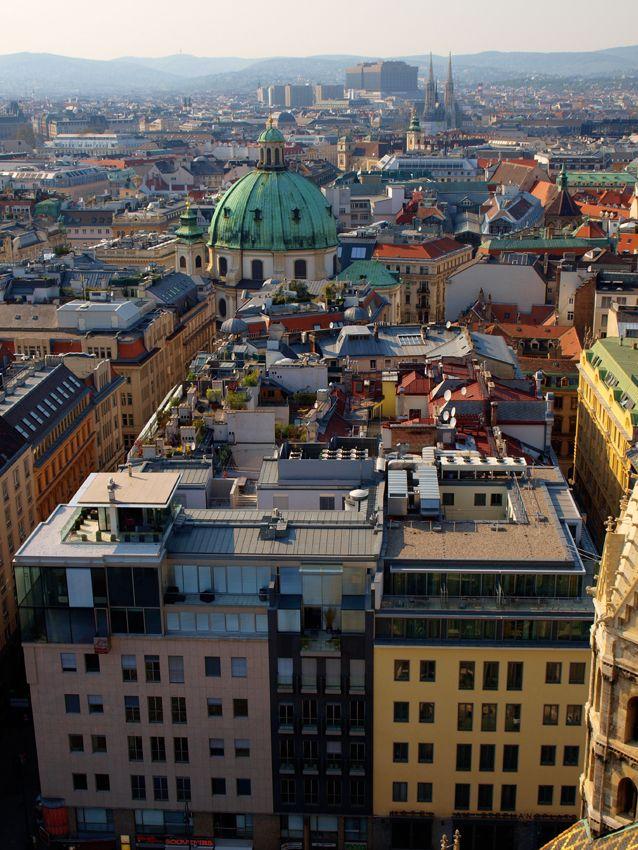 Inigo esteban wien roofs krov konverzija pinterest architecture rooftop and photography - Lakonis architekten ...