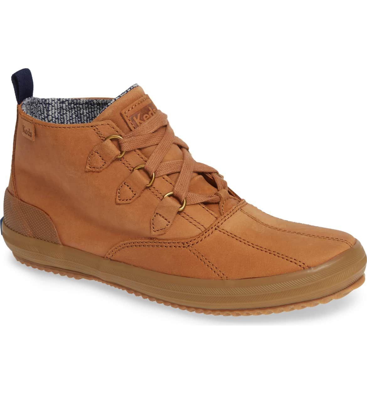 Chukka boots women, Leather keds