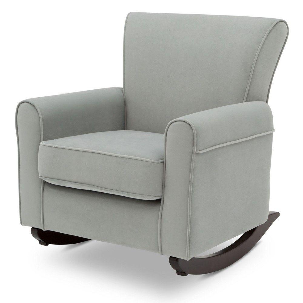 Super Delta Children Lancaster Rocking Chair Mist Blue Dark Beatyapartments Chair Design Images Beatyapartmentscom
