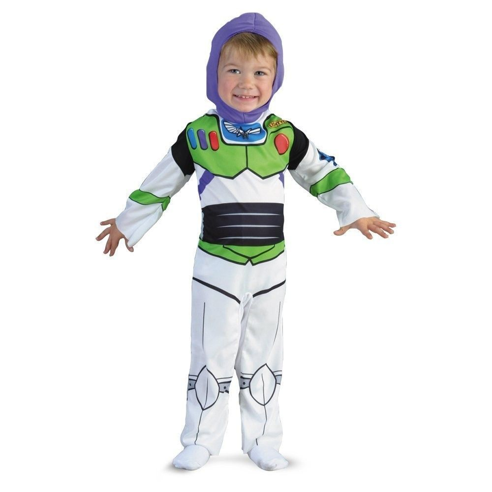 Child Licensed Buzz Lightyear Toy Story Outfit New Fancy Dress Costume Boys