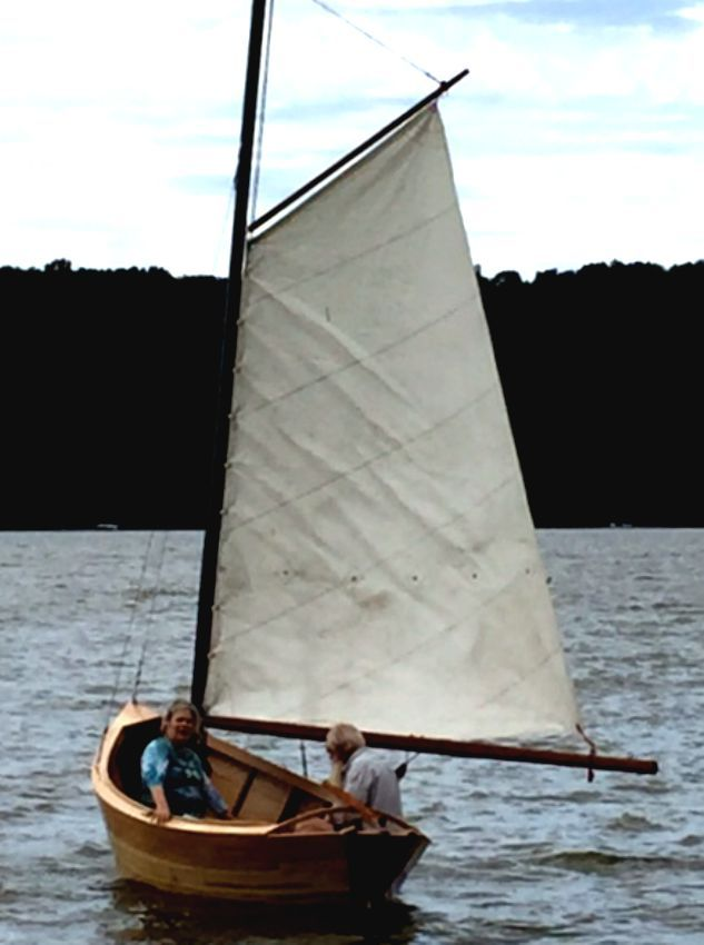 Mackinaw Sailboat Dory Easy Boat Plans | Sailing | Boat