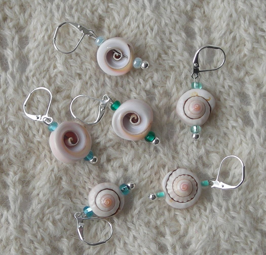 Crochet Stitch Markers - knitting stitch markers - removable ...