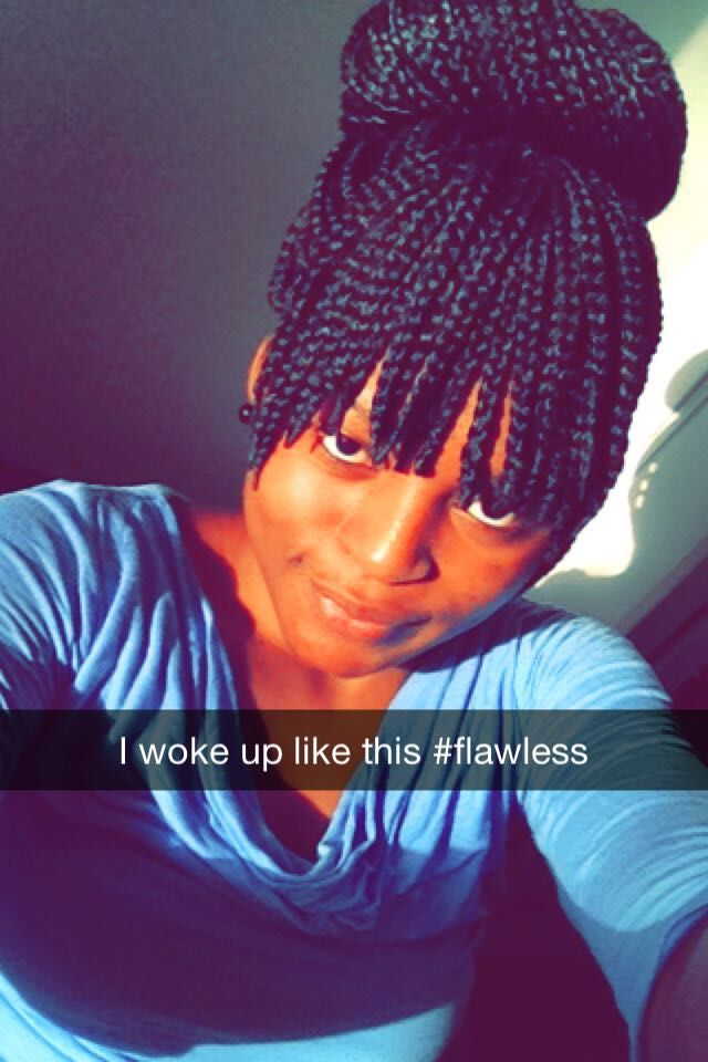 Box Braids With Bangs Bangs Box Braids Box Braids With