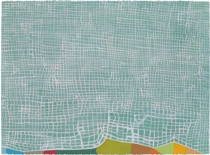 Paddle8: Untitled (L-41) - Thomas Nozkowski