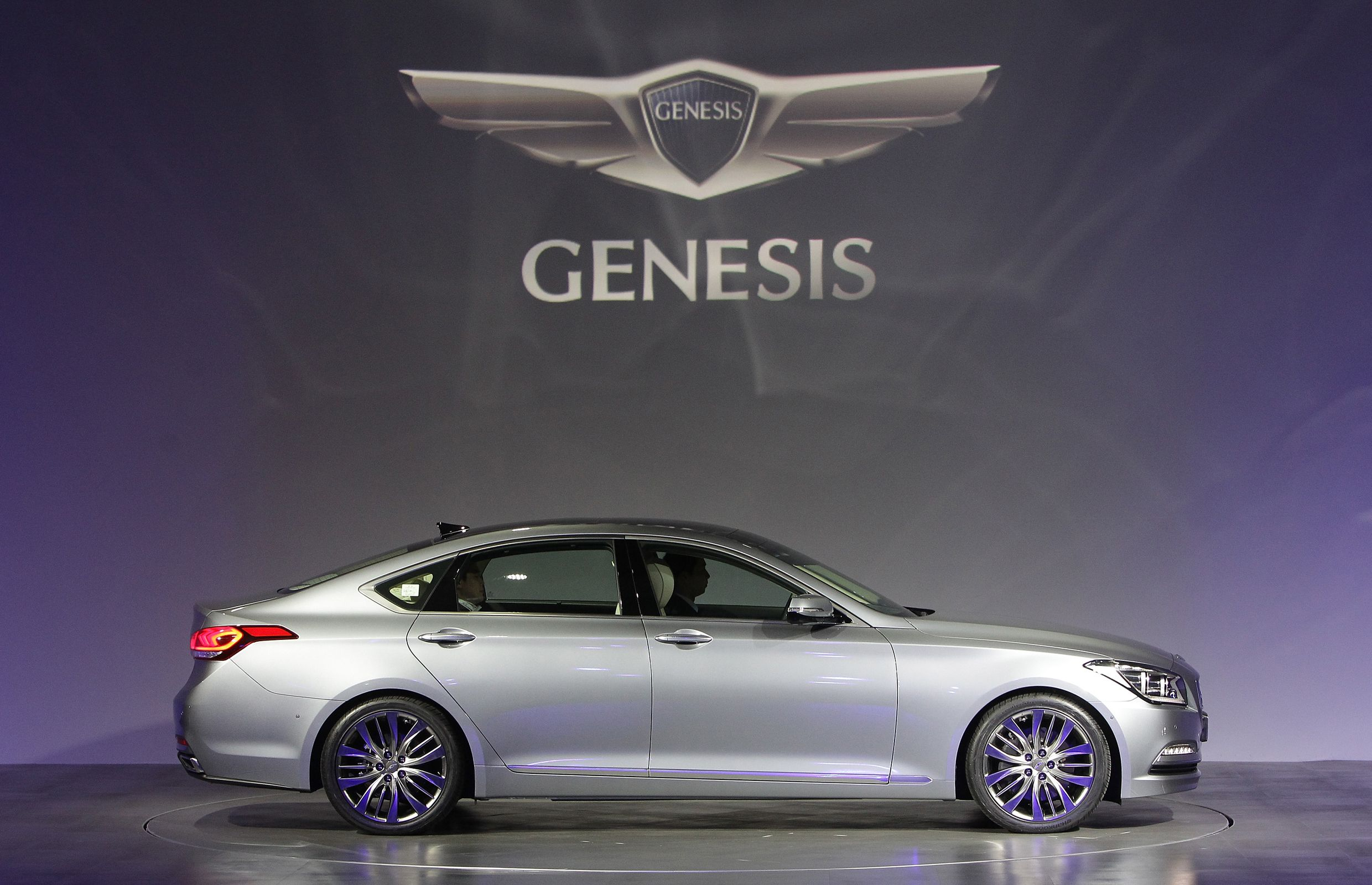 Launch of hyundai motor company s all new genesis in seoul