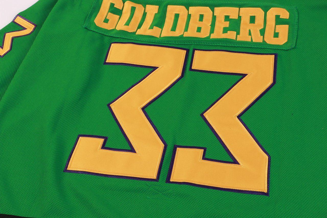 AFLGO Goldberg 33 Mighty Ducks Ice Hockey Jersey Ice