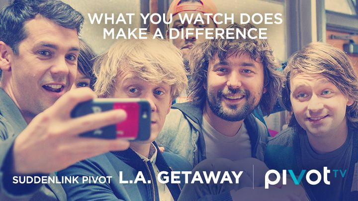 I just entered the Suddenlink Pivot LA Getaway sweepstakes for a chance to win a trip to Los Angeles and watch a taping of a Pivot TV show! You should, too. Check it out.