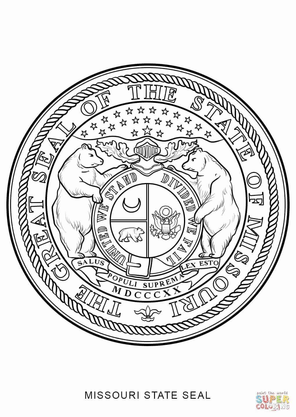 Maryland State Flag Coloring Page Luxury Missouri State Seal Coloring Page Flag Coloring Pages Coloring Pages State Flags
