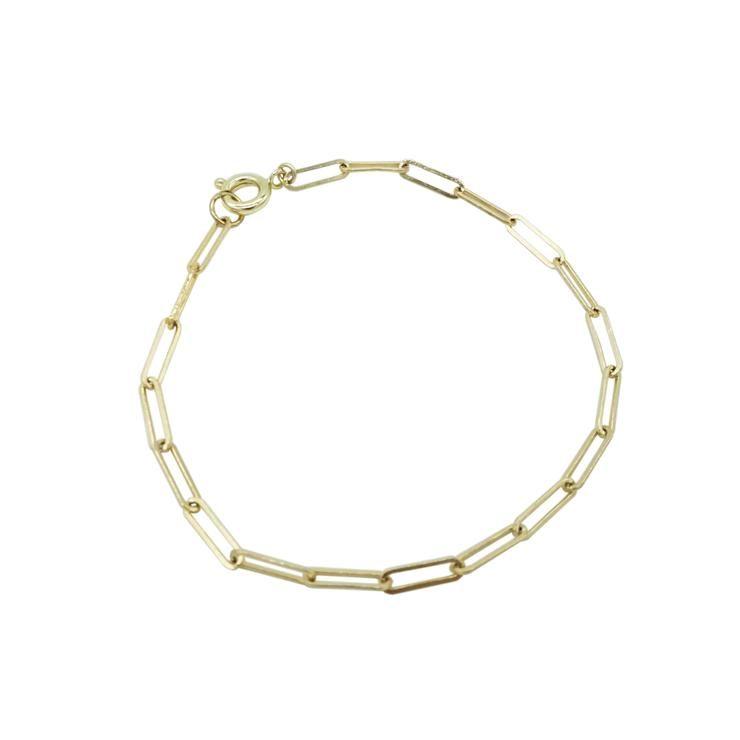 Gold Chain Bracelet - DAINTY GOLDY