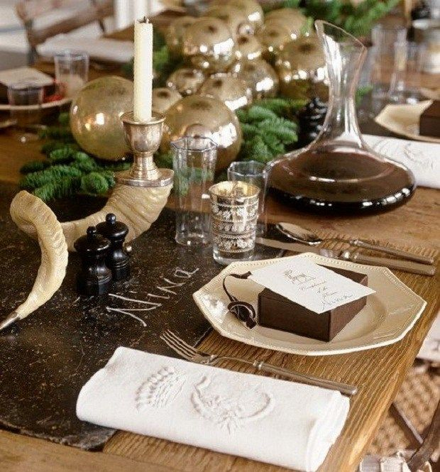 23 Christmas Table Decorations by NYC Neighborhood Table