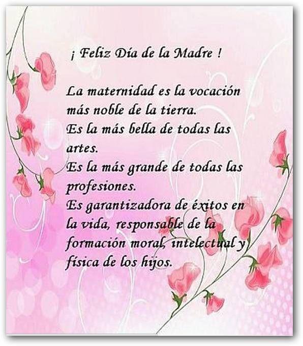 Frases Para El Dia De La Madre 2014 Imagen Con Frases Para Mama En