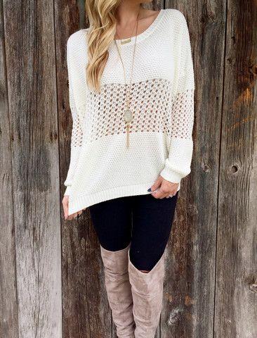 02741ccf8c Morning Dew Drop Sweater – Lola Jeannine