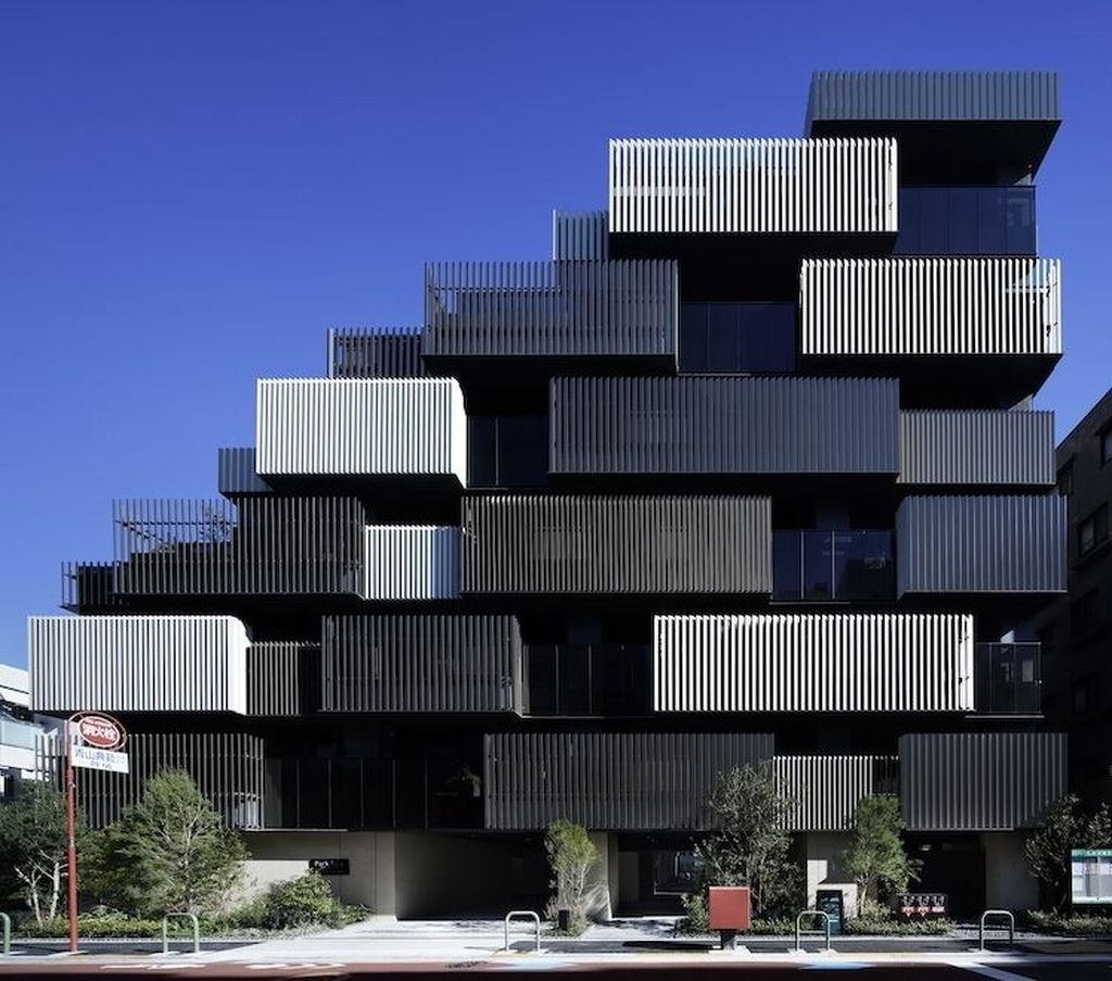 37 +Amazing Apartment Building Facade Architecture Design - Inspirational Pin