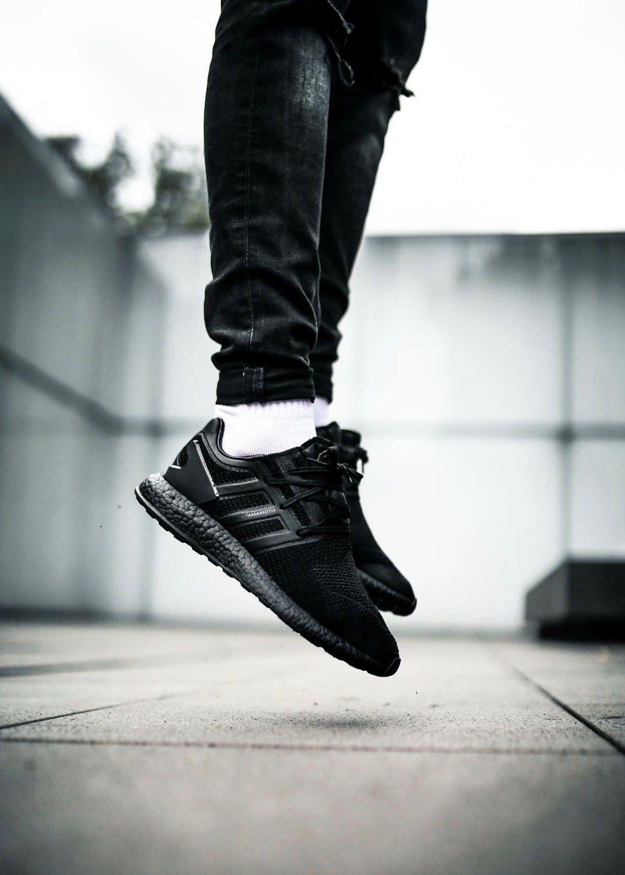 adidas y 3 pure boost triple black