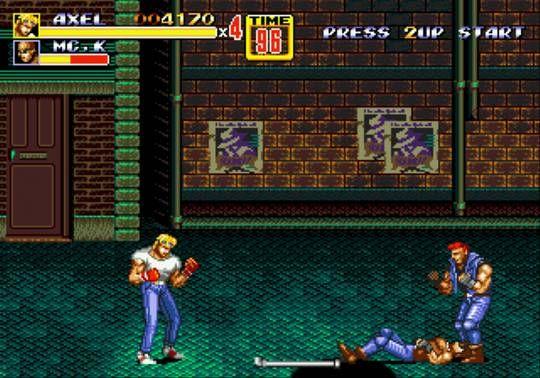 Streets Of Rage Ii User Screenshot 11 For Genesis Gamefaqs Retro Games Pixel Rage Genesis