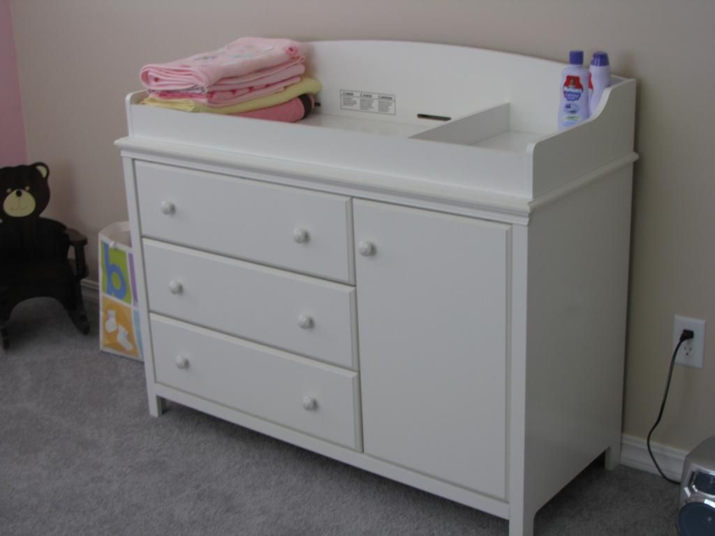 Changing Table Dresser White Changing Table Dresser, Baby Doll Changing  Table, Changing Table Topper
