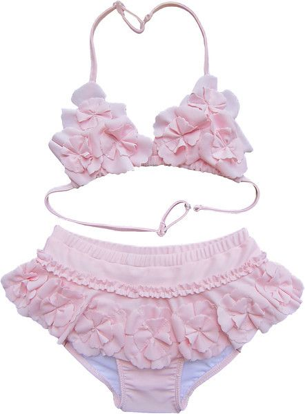 7844ea2a91 Isobella & Chloe- Designer Baby Clothes-Isobella & Chloe Kendall Pink  Halter Bikini only $39.50 - New Items