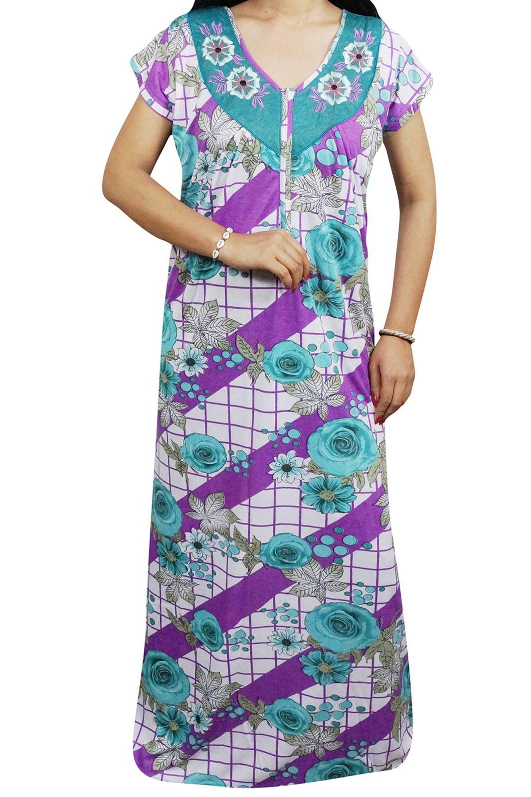 nighty  women  nightwear  maxi  nightgowns  summer  sleepwear  comfortable abcad6a38