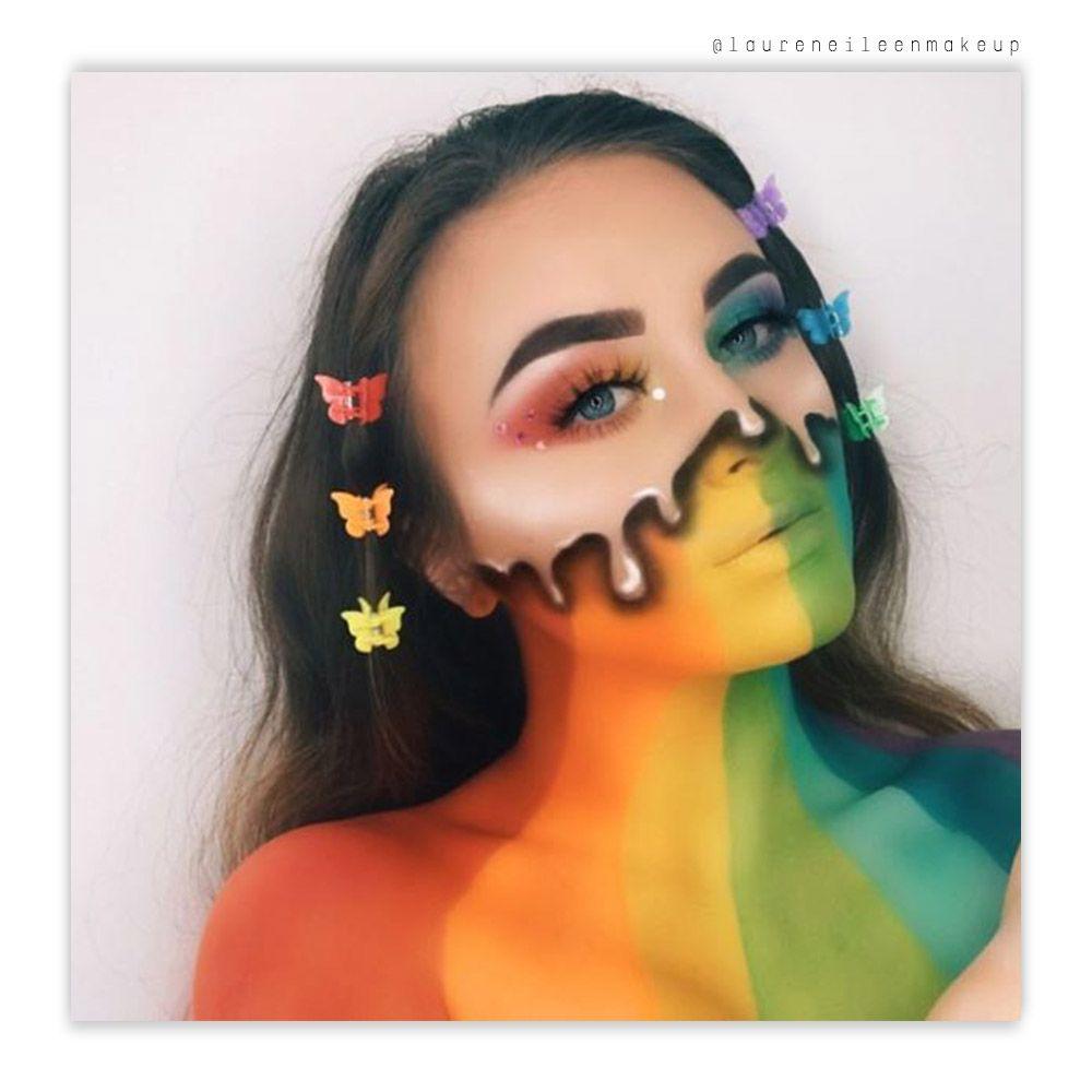 Playhouse Magnetic Eyeshadow Palette London Copyright Creative Makeup Looks Crazy Makeup Rainbow Makeup