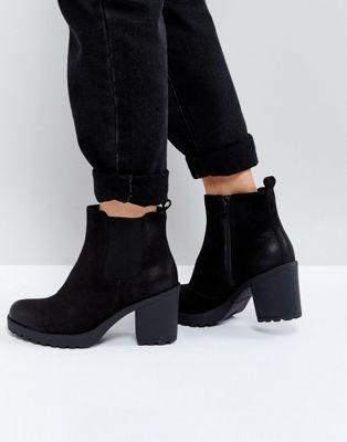 f1959ffde1e2 Vagabond Grace Black Leather Ankle Boots