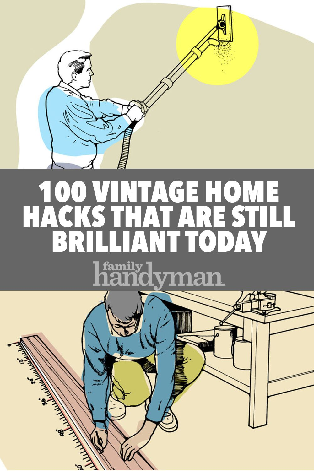 100 vintage home hacks that are still brilliant today | new