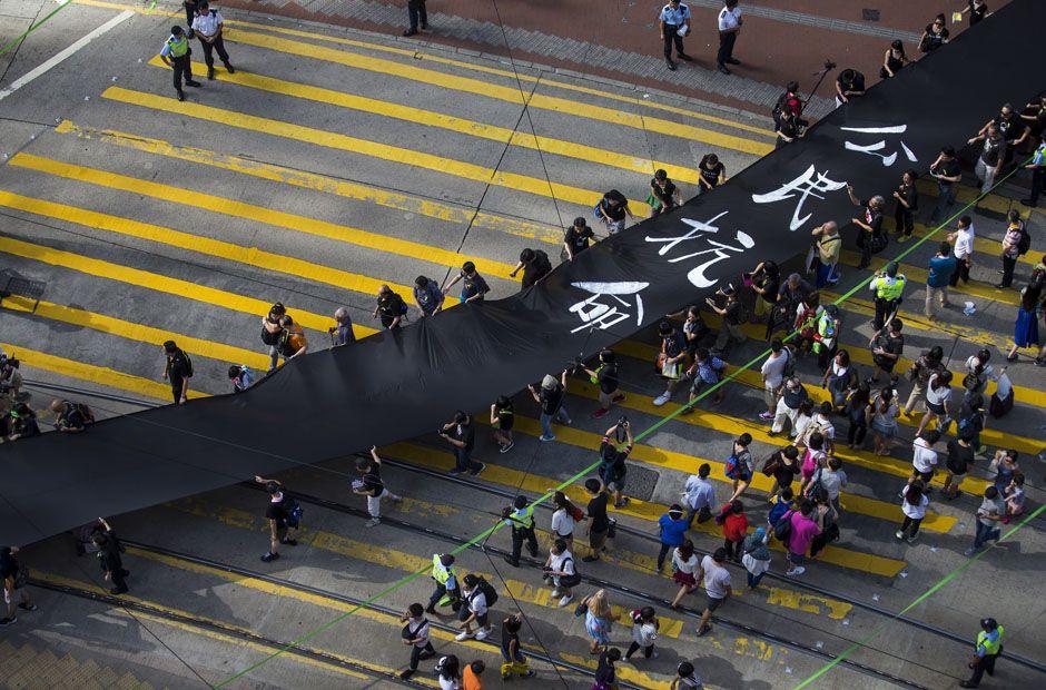 Pin on umbrella revolution hong kong