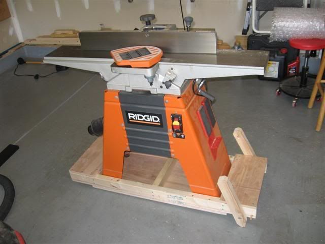 Jointer Mobile Base Shop Layout Woodworking Machine Woodworking
