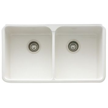 Manor House 32 L X 20 W Apron Double Basin Kitchen Sink With