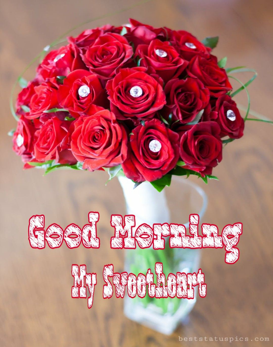 Good Morning Romantic Rose Flower Photos In 2020 Good Morning Romantic Rose Flower Photos Rose Flower