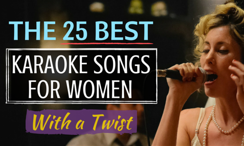 the 25 best karaoke songs for women savvy singing best karaoke songs karaoke songs karaoke. Black Bedroom Furniture Sets. Home Design Ideas