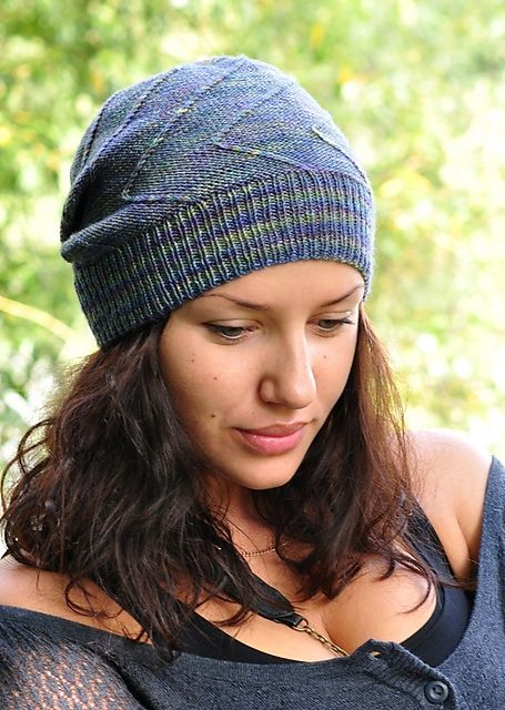 Rubbish Mojitos pattern by Woolly Wormhead | Gorros para dama, Dos ...