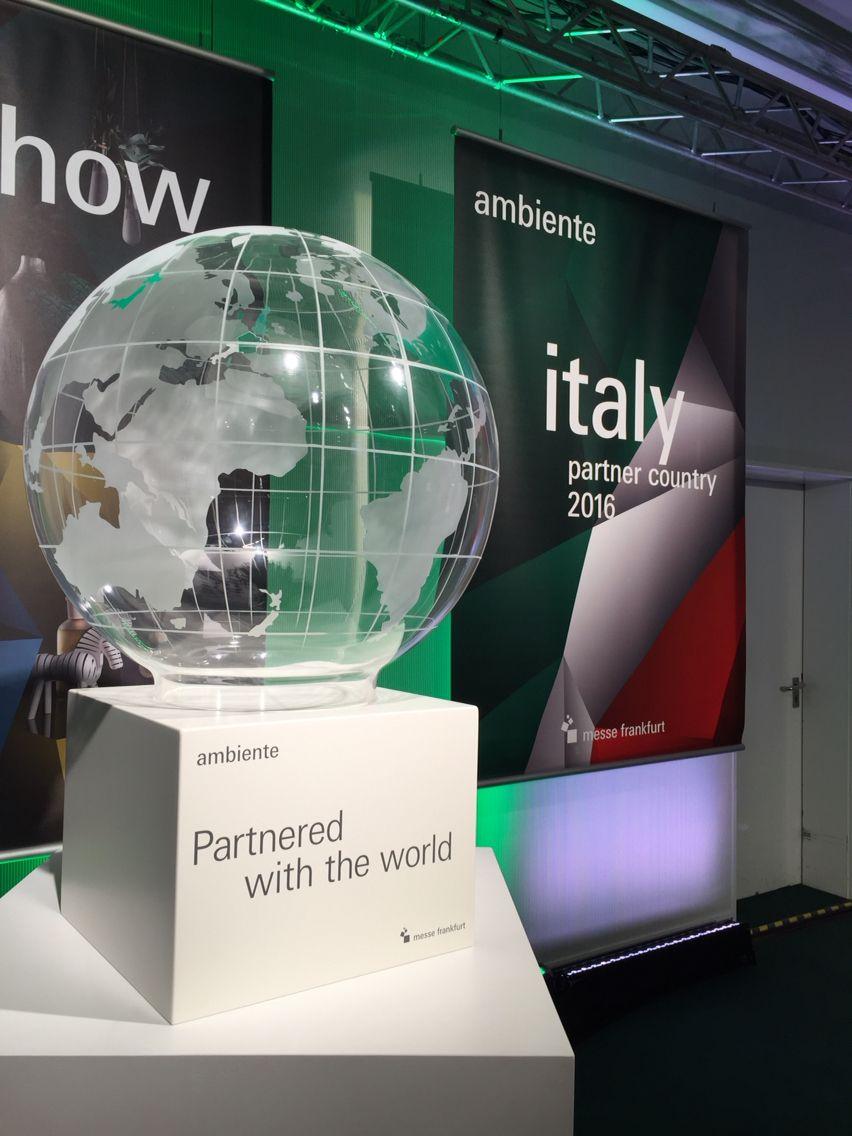 Partner Country Italy. #italyday #ambiente16