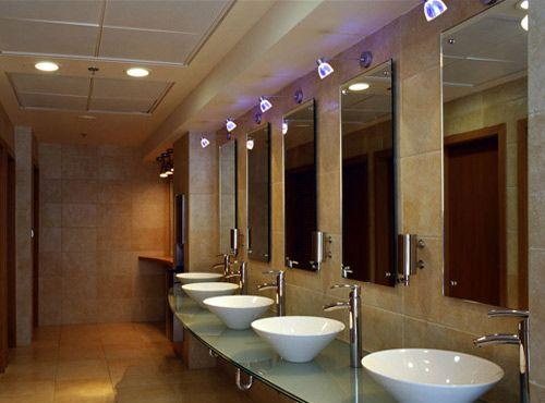 Hotel Public Restroom Design