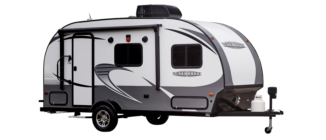 See The 2018 Satellite Lightweight Travel Trailer Floor Plan Layout Specs Decor And More