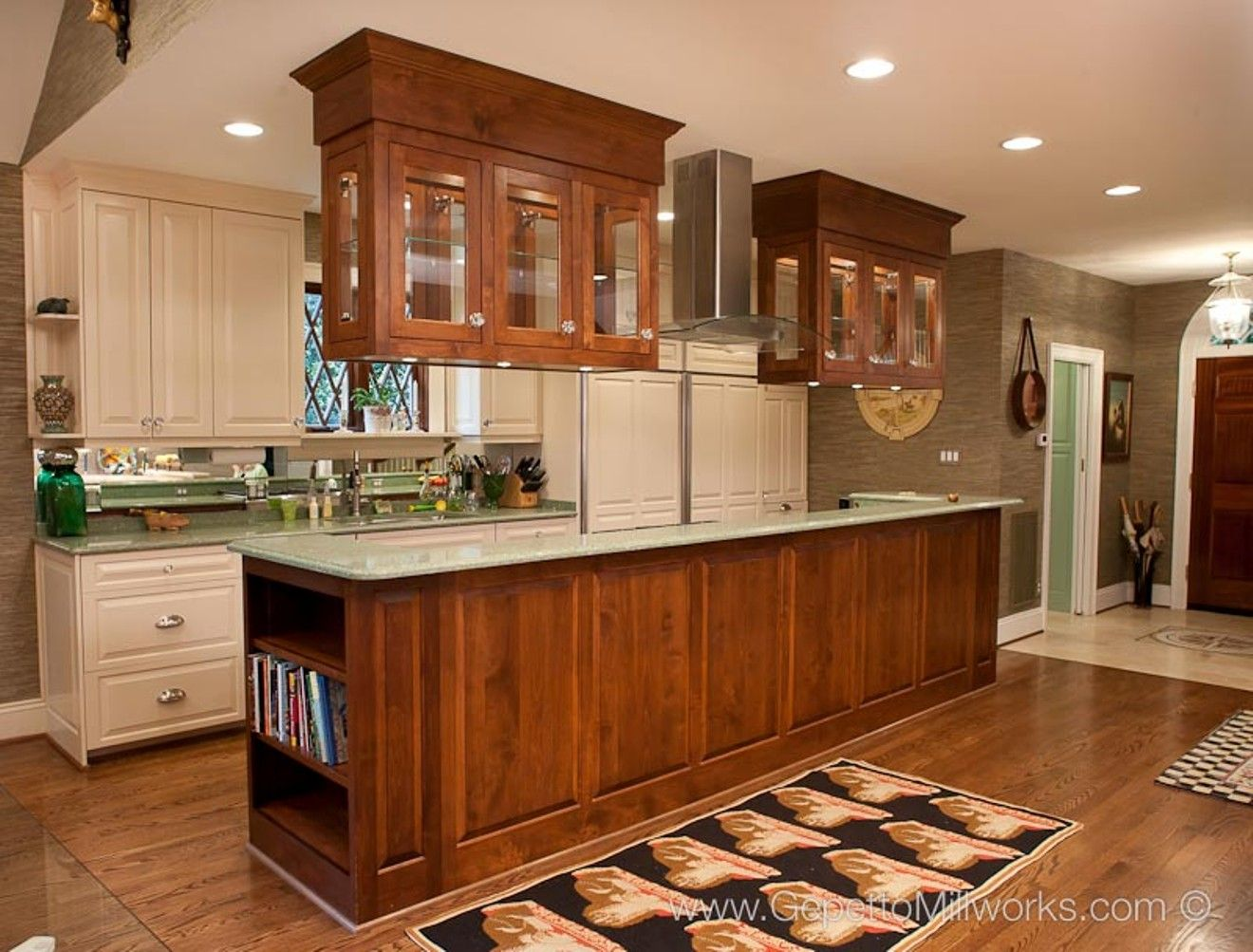 superb How To Hang Kitchen Cabinets From Ceiling #7: 17 Best Images About Kitchen Cabinets On Pinterest Stains Maple . Putting  ...