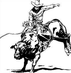 Free Rodeo Clipart Bull Riding Pbr Bull Riding Bull Riders