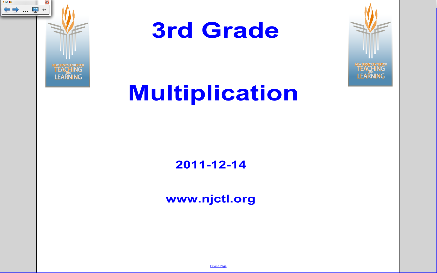 Smart Board Lessons Resources Math Elementary Multiplication